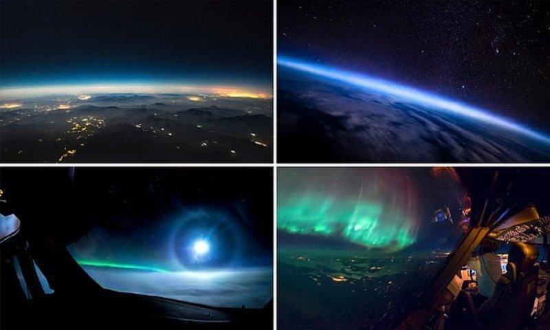 """Из моего офиса вид лучше! Пилот """"Боинга"""" делится снимками из полетов вид из кабины пилота, красиво, летчик, небо над нами, путешествия над Землей, фото из самолета, фотограф, фотографии"""
