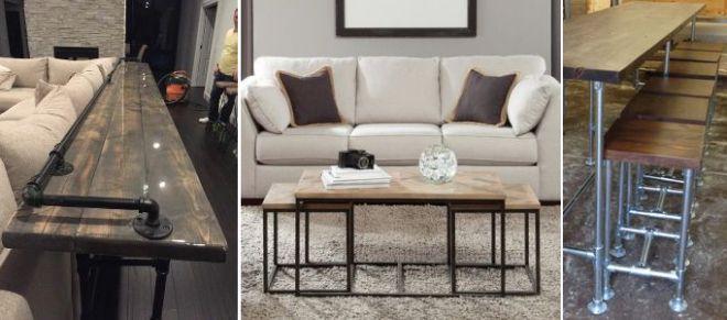 мебель в стиле лофт для квартиры