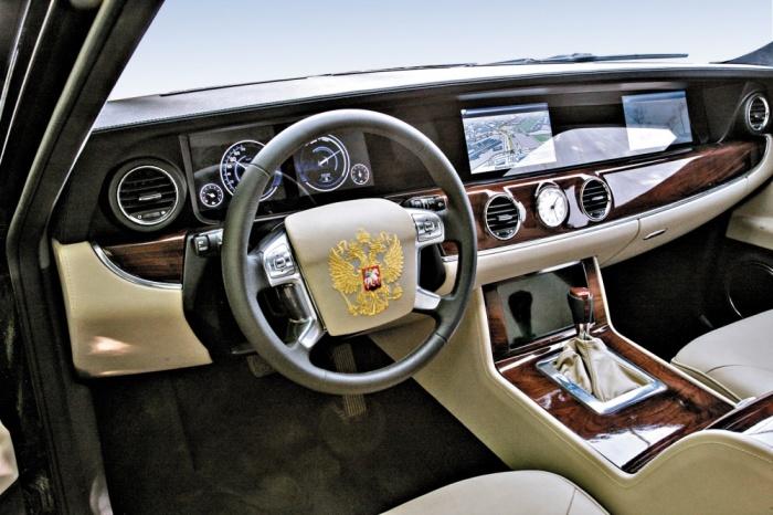 Новый лимузин Путина