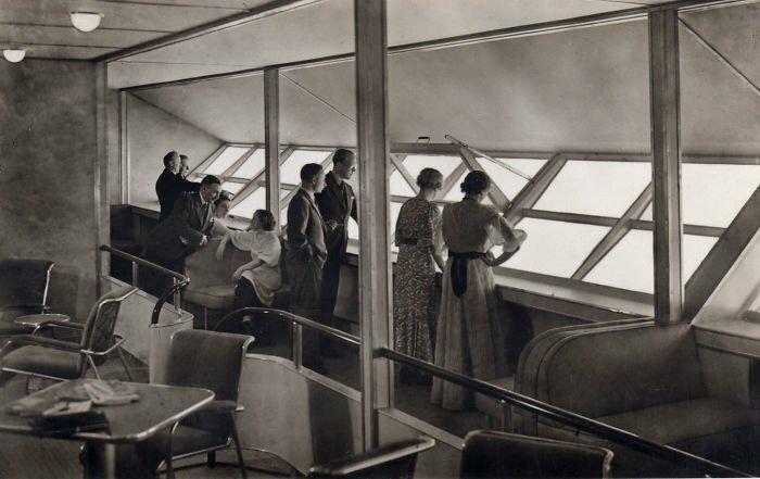 Гостиная Гинденбург, история, фото