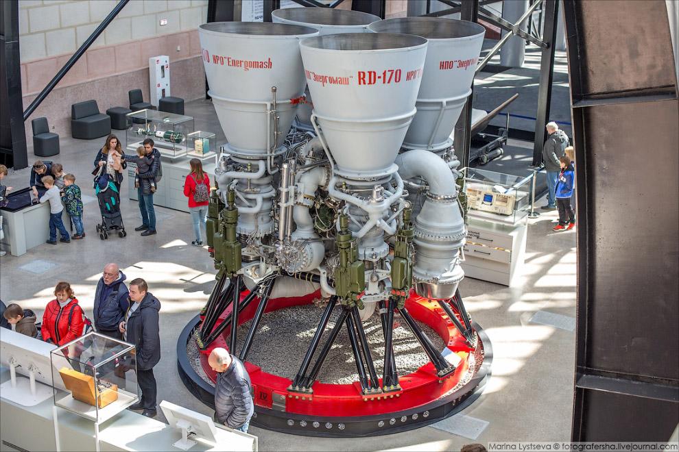 жидкостного ракетного двигателя РД-170