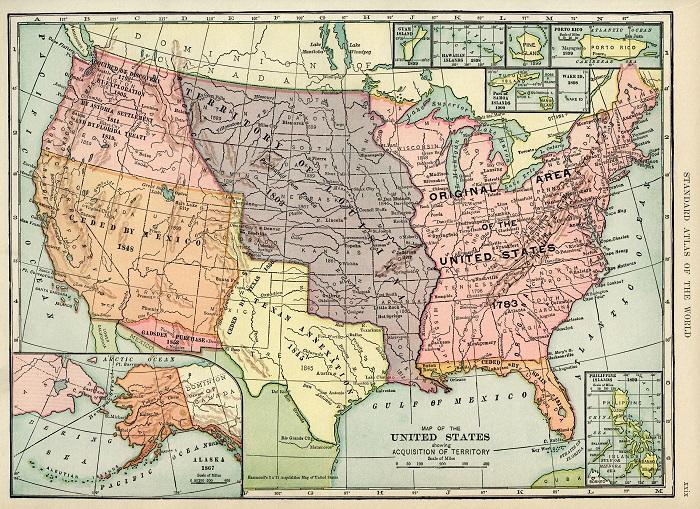 Как США покупали себе территории