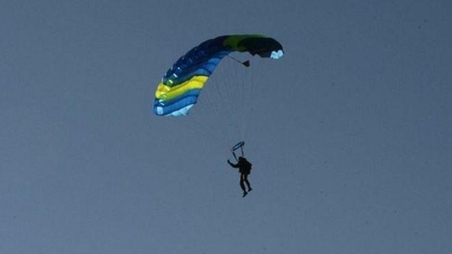 Прыгнуть из самолета без парашюта