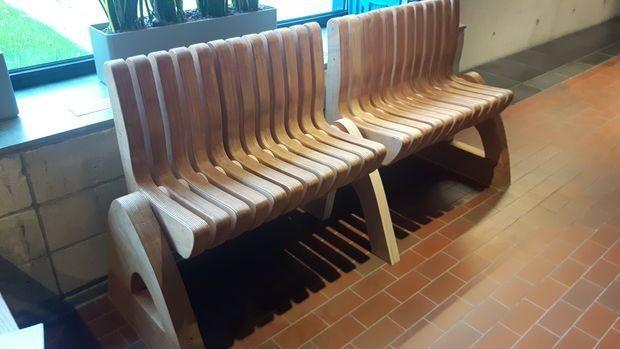 Потрясающая скамья-трансформер