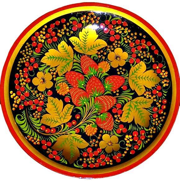 Картинки хохлома цветы
