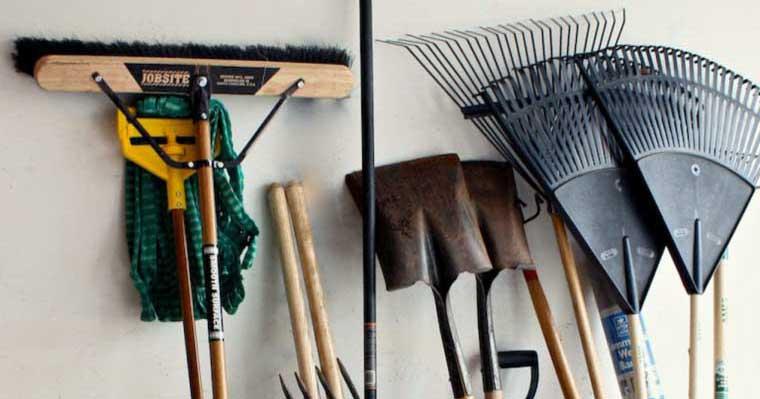 Эти 5 советов помогут организовать все ваши садовые инструменты