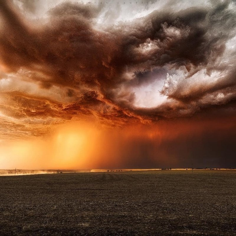 Австралийское ненастье на фотографиях Джордана Кантело пейзажи