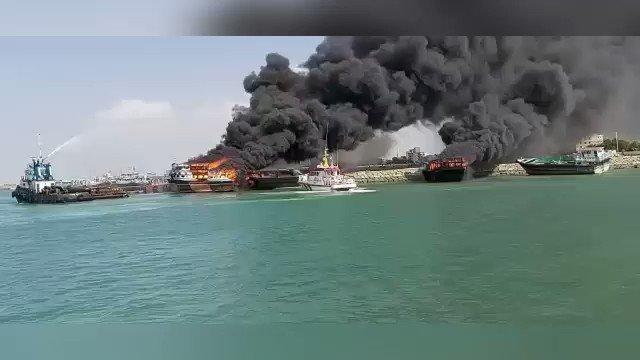 В Ормузском проливе атакованы четыре иранских корабля геополитика