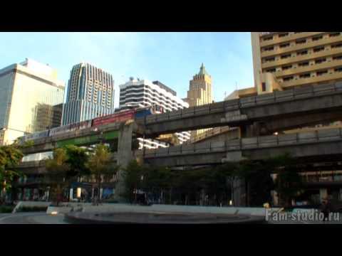 Бангкок - архитектура. Контрасты (клип)