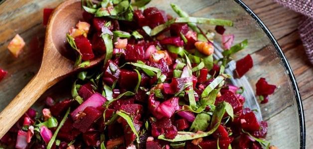 рецепт салата из лебеды