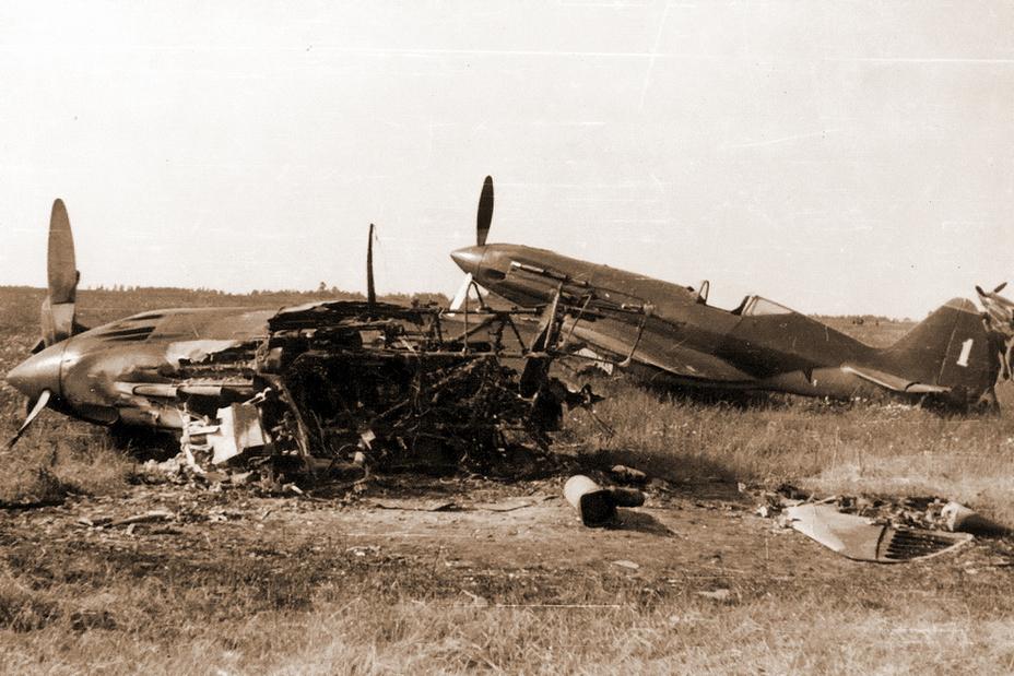 22 июня 1941 года. Сражение за небо