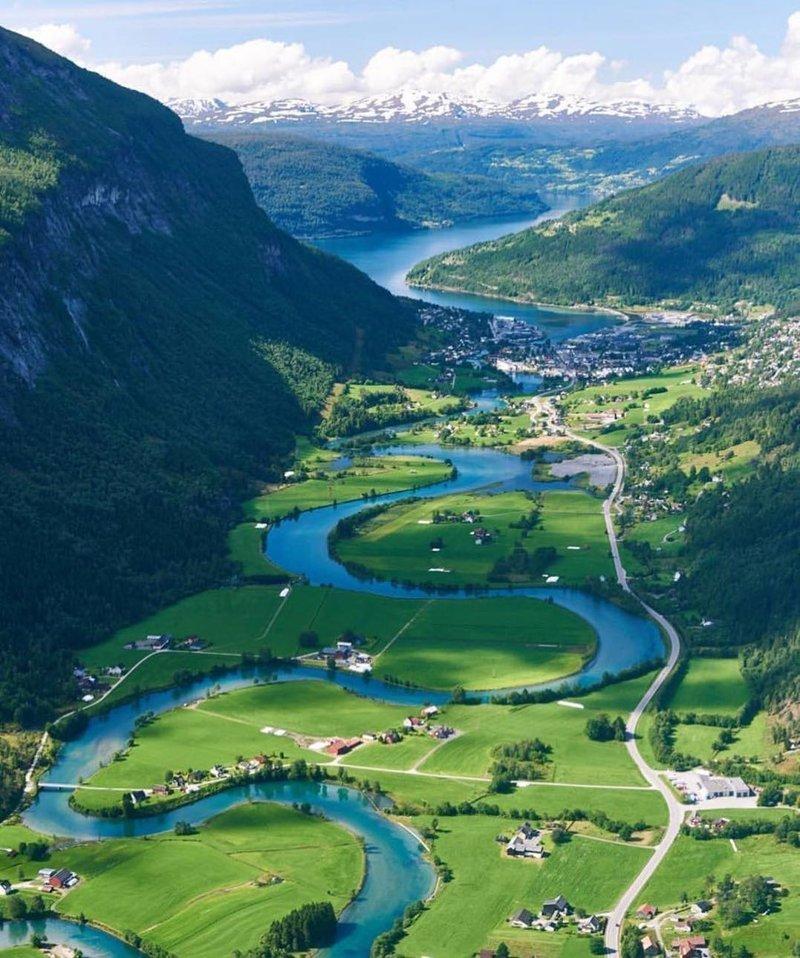 Nordfjord, Norway красивые места, мир, планета, природа, путешествия