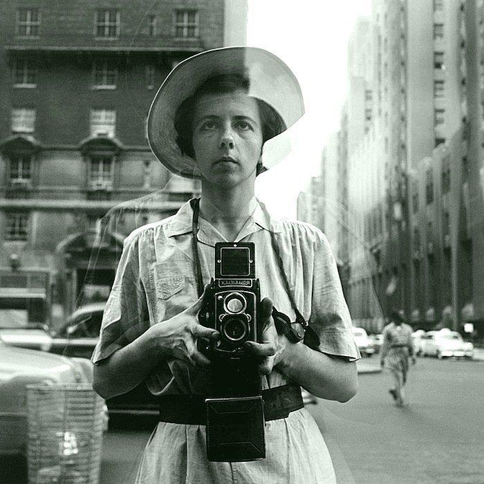 Вивиан Майер - Автопортрет (без даты) Весь Мир в объективе, история, фотография