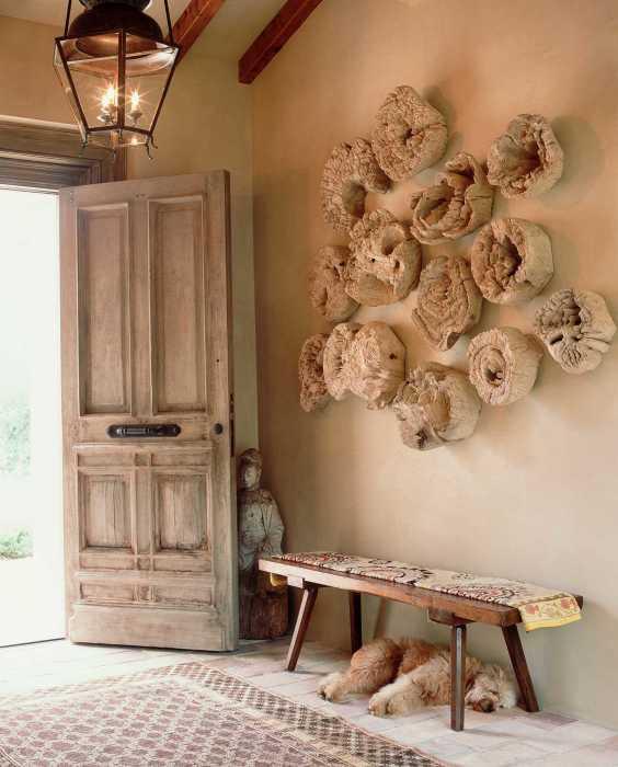 Уникальная дизайнерская композиция, созданная из старых деревянных пней, для настоящих любителей экостиля.