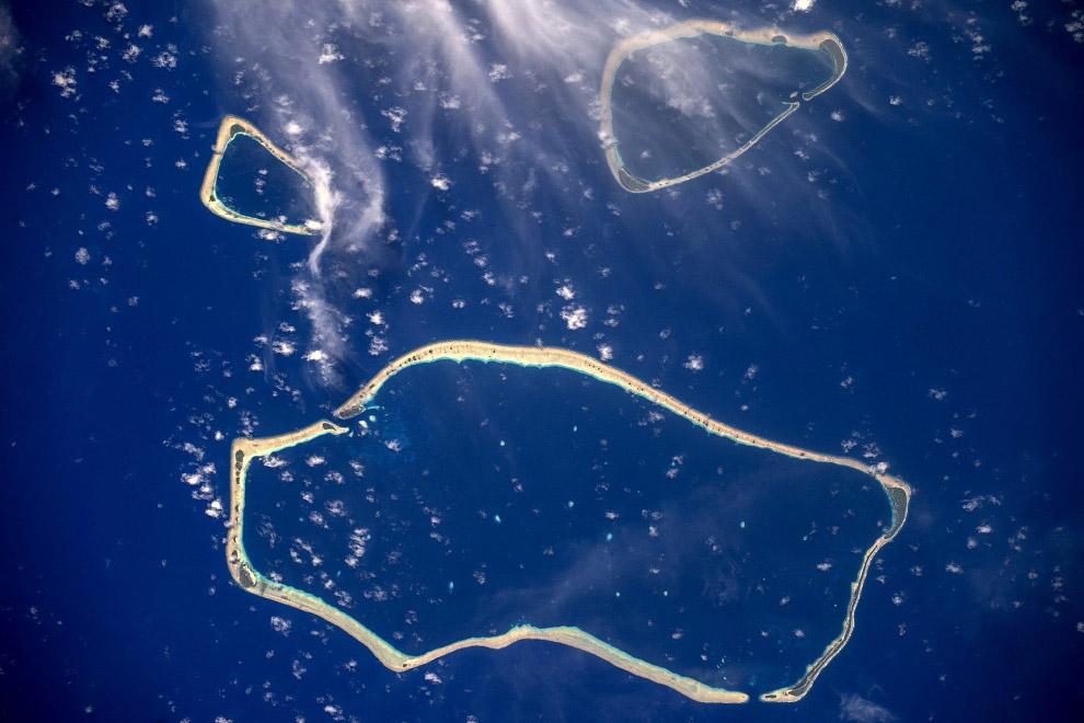 Каролинские острова получились на фотографии очень эмоциональными
