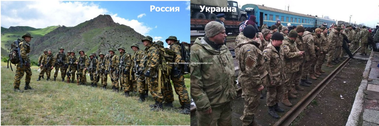 Сравниваем горно-пехотные бригады России и Украины