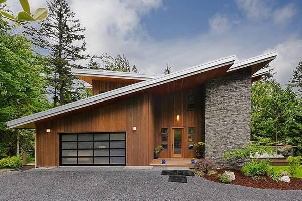 красивые проекты одноэтажных домов и коттеджей фото, фото 99