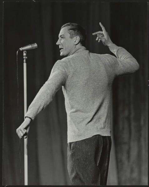 Евгений Евтушенко Олег Мерцедин, 1960-е, МАММ/МДФ.