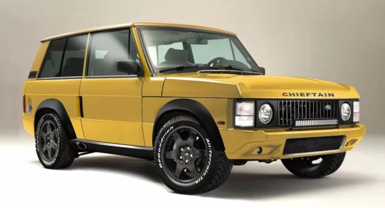Chieftain анонсировал новый рестомод на основе Range Rover с турбомотором Автомобили