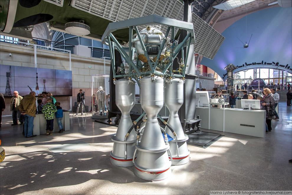 Жидкостный ракетный двигатель РД-107А/РД-108А