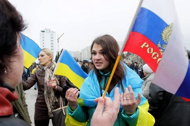 Украина под санкциями России…