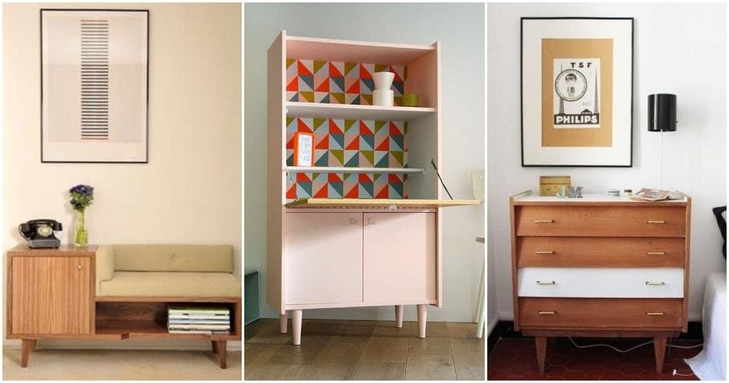 Винтажная мебель в наше время: стильные проекты для вашего дома