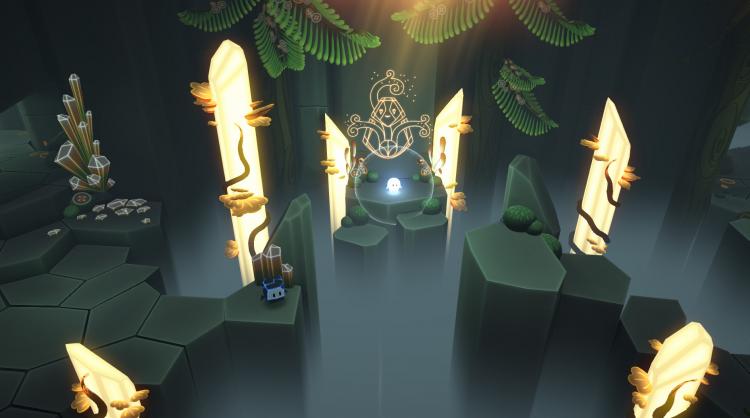 Очаровательная кооперативная головоломка Pode о приключениях камня и звезды выйдет 3 апреля на ПК