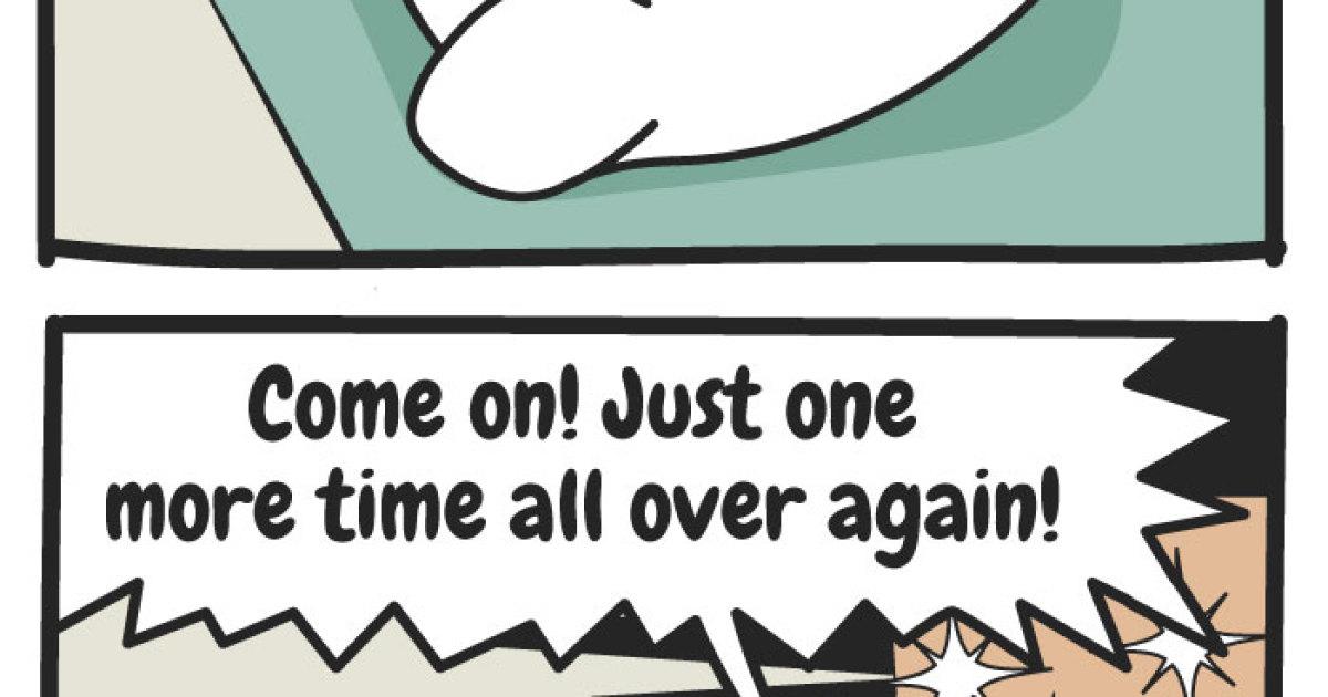 Comic #3: Exercise Distress