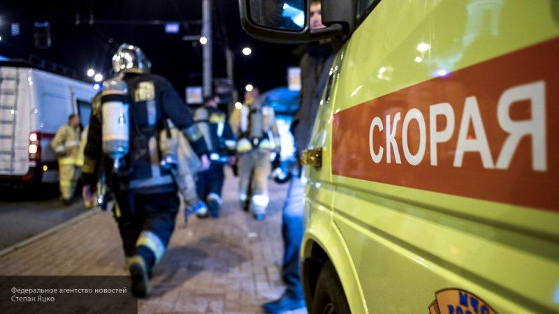 Иномарка столкнулась с автобусом на мосту в Перми