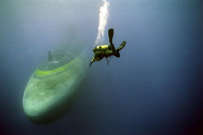 Как тренируются подводные спасатели