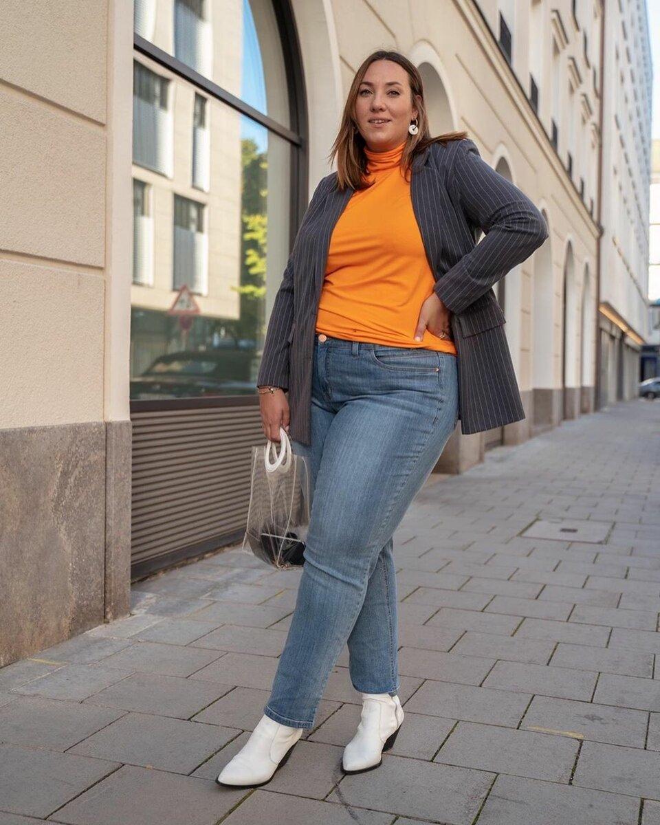 Берем пример: модный немецкий блоггер показала, как стильно одеваться с весом в 90 кг