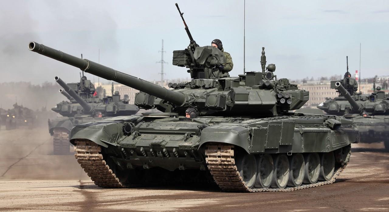 Танк Т-90С назван жемчужиной…