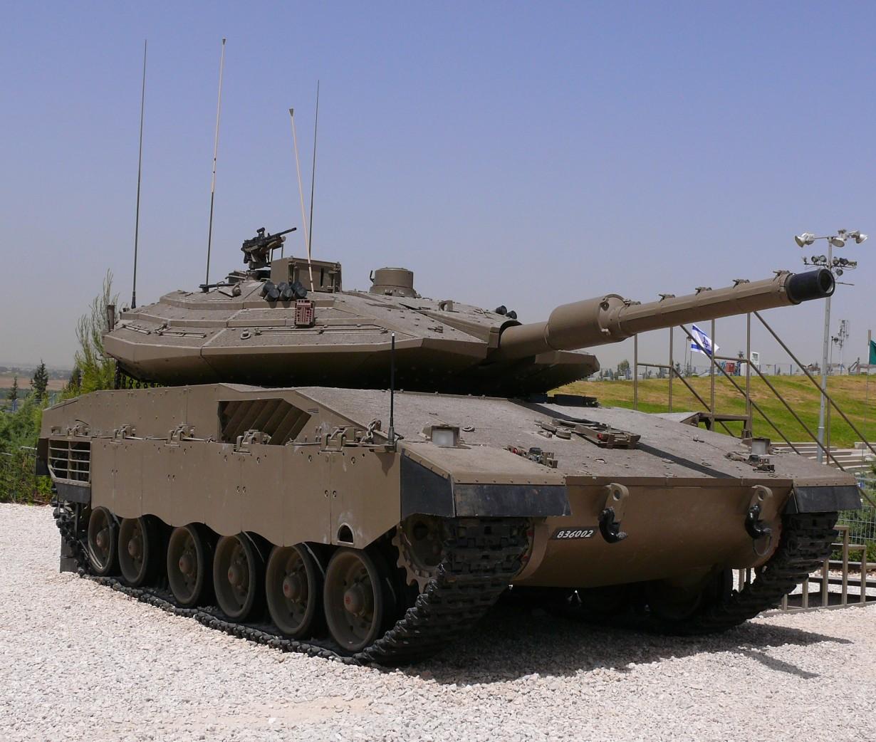 Меркава Mk.4М, Израиль (MathKnight)