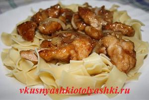 Курица маринованная в соевом соусе