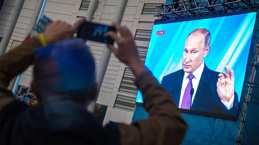 Как всё зашевелилось после речи Путина!