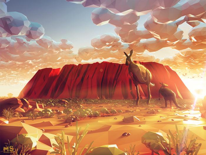 Австралия. Автор: Mat Szulik.