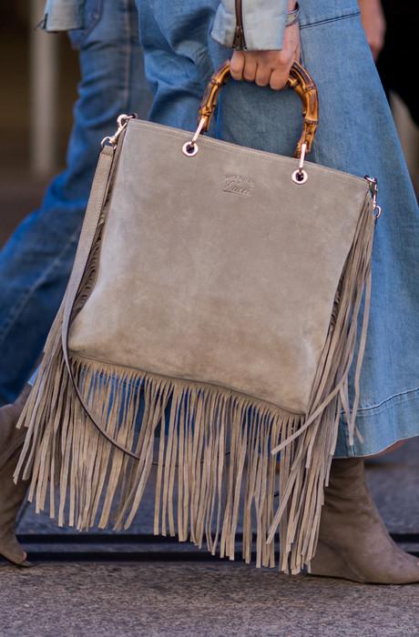 Бахрома сумка