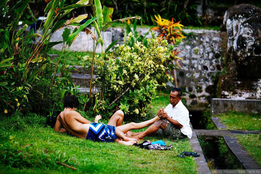 Экскурсия во дворец Тиртаганга на Бали