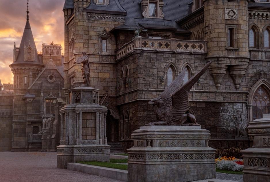 Замок гарибальди тольятти фото внутри