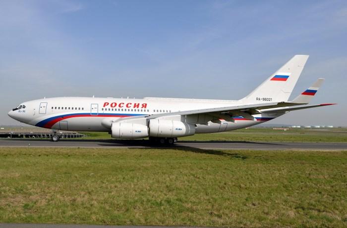 Главный самолет РФ.