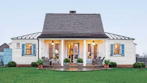 красивые одноэтажные дома с террасой фото, фото 74