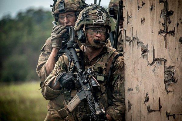 Американская пехота не готов…