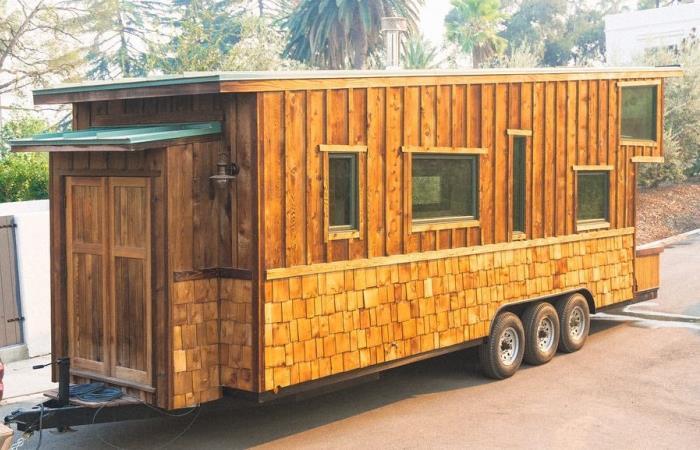 Отличный дом на колесах, сделанный своими руками