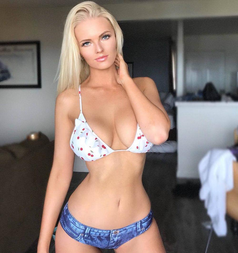 голые сиськастые фигуристые блондинки - 5