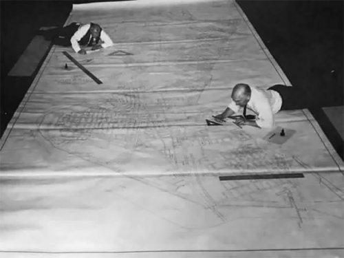 Фотографии из прошлого, показывающие, какой была жизнь проектировщиков до появления AutoCAD