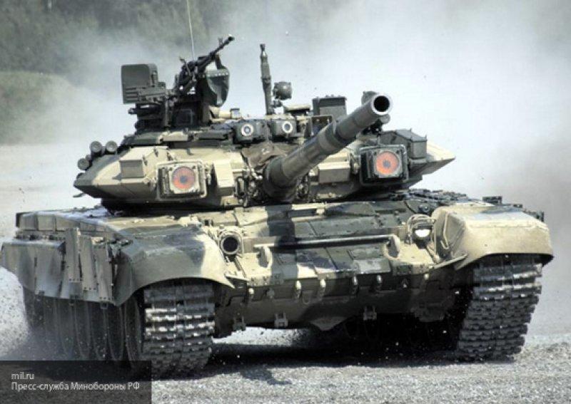 Белик высоко оценил тактику сирийских танкистов, управляющих российскими Т-72 и Т-90