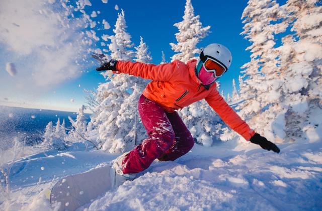 Лучшие горнолыжные курорты России