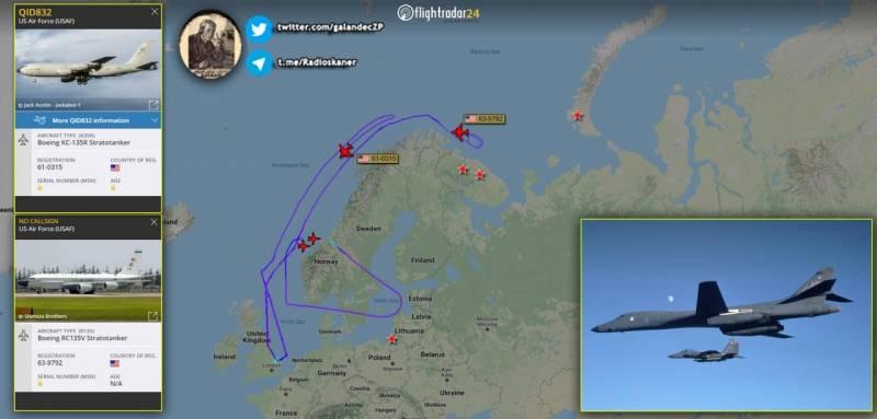 Forbes признал размещение бомбардировщиков в Норвегии антироссийской провокацией