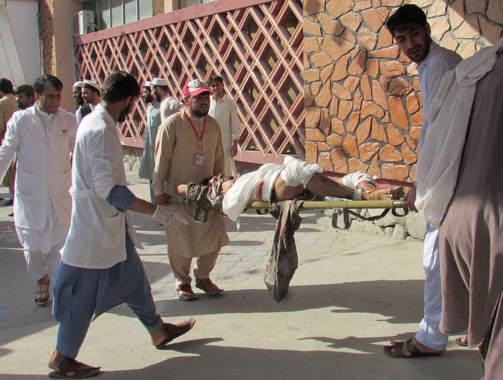 Более 50 человек погибли в результате теракта в Афганистане