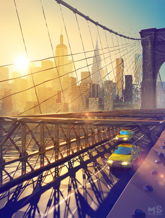 Нью-Йорк. Автор: Mat Szulik.